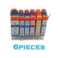 6pcs Full PGI 225 CLI 226 Compatible Ink Cartridge For Canon PIXMA MG6120 MG6220 MG8220 MG8120