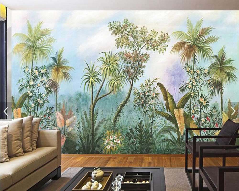 Aliexpress Com Buy Large Custom Mural Wallpapers Living: Aliexpress.com : Buy Custom Wallpaper For Walls 3d, Banana