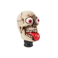 Phổ Cá Nhân Car Phím Shift Knob Con Người Khắc Skull Head Xe Bánh Stick Shifter Knob Phím Shift Lever