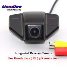 Liandlee For Honda Jazz ( Fit ) 5D 2002~2011 Car Reverse Camera Rear View Backup Parking / Integrated High Quality