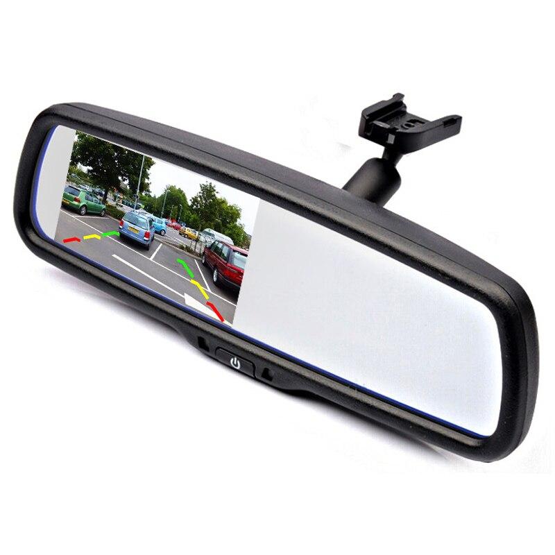 Артқы көрініс камерасы 4.3 «TFT LCD - Автомобиль электроникасы - фото 2