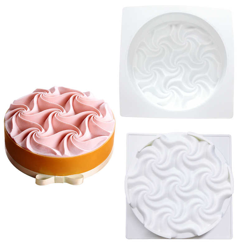 SHENHONG inanılmaz çiçekler kek kalıbı pişirme tatlı sanat mus silikon 3D kalıp Silikonowe modülü pasta çikolata Pan