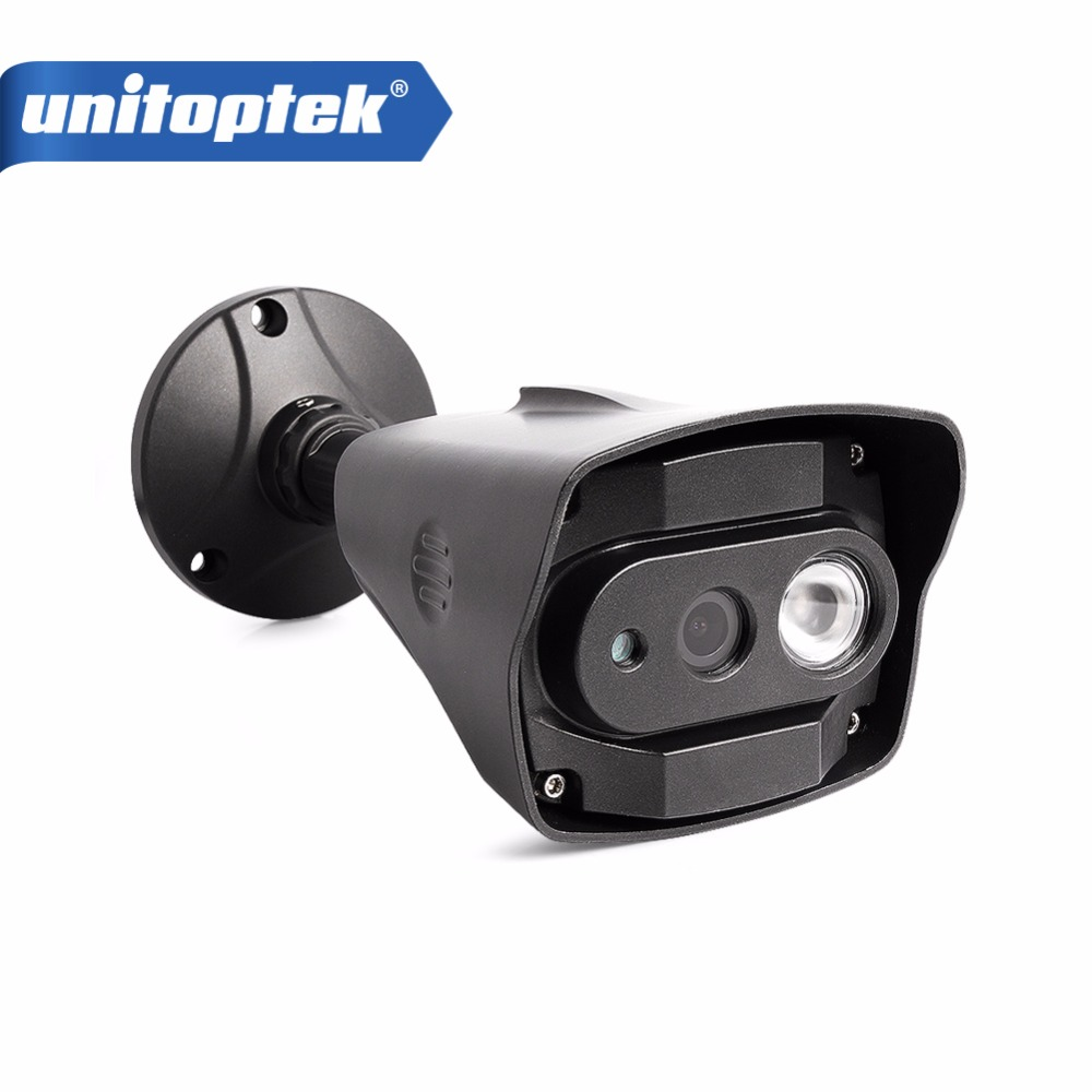 UNITOPTEK SONY IMX 322 IP Camera 1080P ONVIF Outdoor HD Security Waterproof IR 10M Night Vision Bullet CCTV Camera IP 2MP XMEye аксессуары для видеонаблюдения unitoptek cctv hikvision cab 08