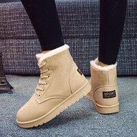 Классические женские зимние ботинки зимние сапоги, ботильоны Для женщин теплые зимние ботинки с помпоном обувь круглый носок на шнуровке Т...