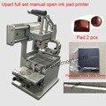 Mini pad máquina de impressão, máquina de impressão da almofada de mesa, luzes de máquina de impressão da almofada