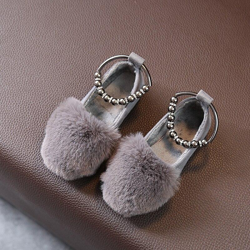 Bavoirsj Big Size Harig Nieuwe collectie Ronde Teen Baby Roze Casual - Baby schoentjes - Foto 4
