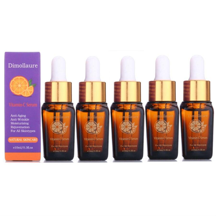 Dimollaure Vitamin C Serum Whitening removal Freckle melasma Acne scar pigment Melanin Hyaluronic Acid serum face care essence