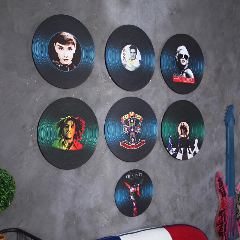 Hanging Records On Wall popular records wall art-buy cheap records wall art lots from