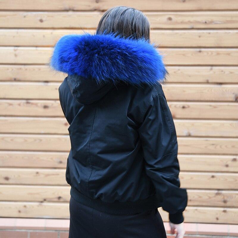p Bomber 3 blue g Vestes D'hiver 2 Raton Cx 1 4 Col Faux Fourrure Doublure Mode 19n Laveur De Inner rtdshQCx