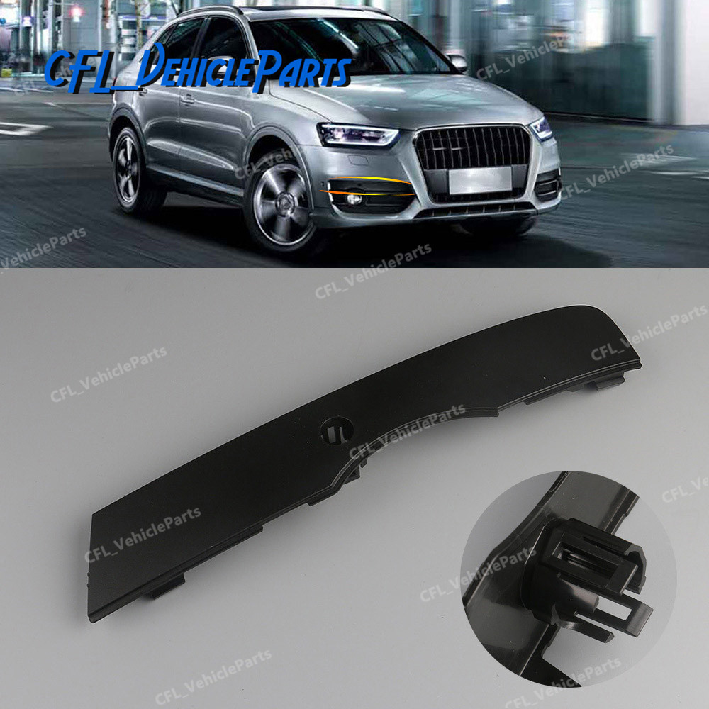 AUDI Q5 2013-2016 Front Bumper Cover with holes for parking sensors and washer