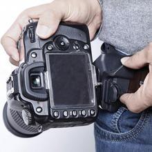 1 шт. Черная Камера Быстрый ремень кобура с пряжкой крепление на поясе вешалка зажим для Canon Nikon sony