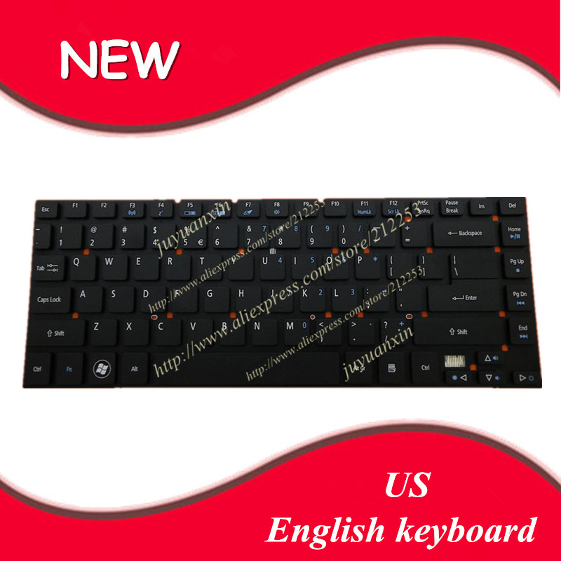 US layout English keyboard For <font><b>Acer</b></font> <font><b>Aspire</b></font> 3830 3830T 3830G 3830TG <font><b>4830</b></font> 4830T 4830G <font><b>4830TG</b></font> 4755 4755G BLACK laptop keyboard image