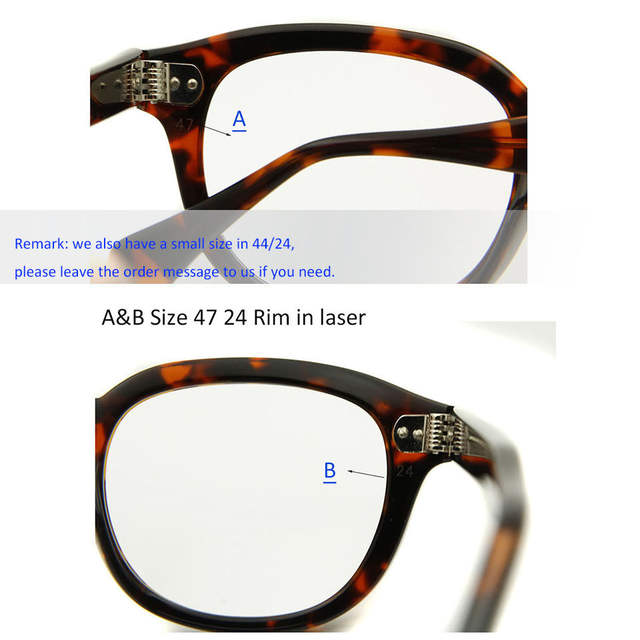 a7ce3f4402833 ESNBIE 47mm High Quality Johnny Depp Glass Eyewear Frames Men Vintage Round  Frame Glasses Mens Retro