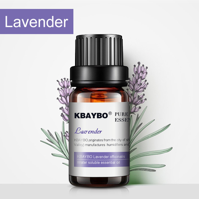 10ml Essential Oils For Diffuser Aromatherapy Oil Humidifier 6 Kinds Fragrance Of Lavender Tea Tree Rosemary Lemongrass Orange