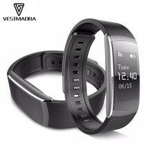 Vestmadra I6 Pro смарт-браслет монитор сердечного ритма IP67 умный Браслет фитнес-трекер для Andriod 4.4