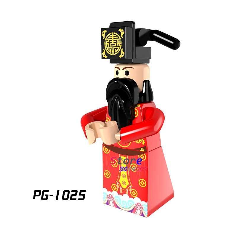 Single  Inhumans Royal Family God of Wealth Gingerbread Man Medusa building blocks models bricks toys for children kits