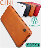 Nillkin Qin Flip   Leather     Case   Cover For Samsung Galaxy S9 Plus