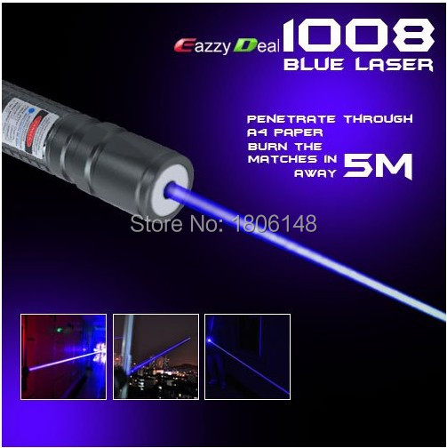High Power 5w 50000m 405nm Lazer Flashlight Green Purple Blue Laser Pointer Focus Burn Black Match Pop Balloon,free Shipping