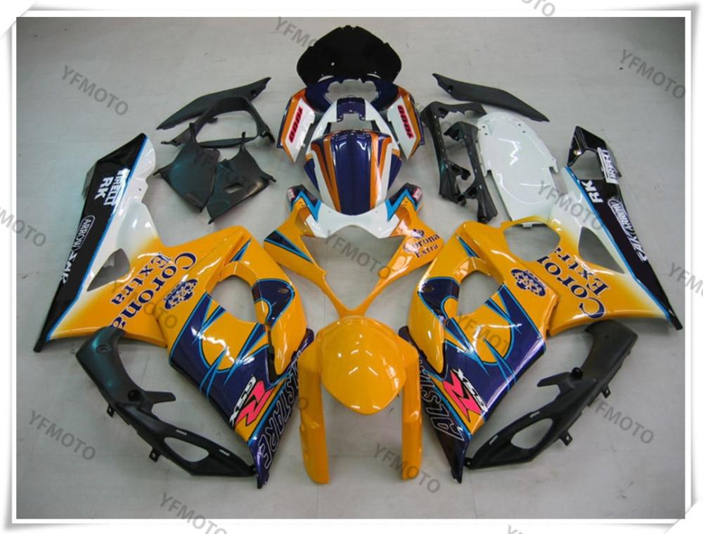 Motorcycle abs fairing body work  cowling for suzuki gsxr1000 gsxr 1000 k5 2005-2006 +4 gift