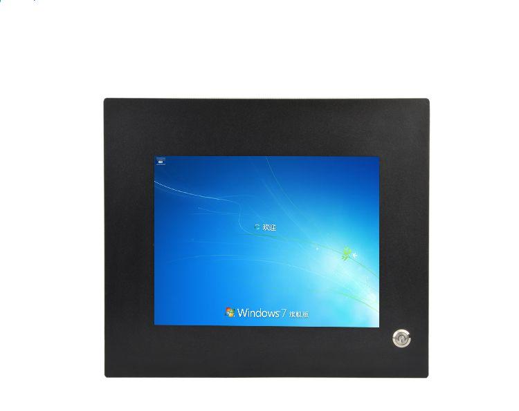 12 дюймов промышленных Сенсорный экран Панель настольного компьютера i7 с 1024*768