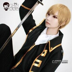 Image 3 - HSIU perruque de Cosplay Sougo Okita, Gin Tama, perruque de jeu, Halloween, cheveux