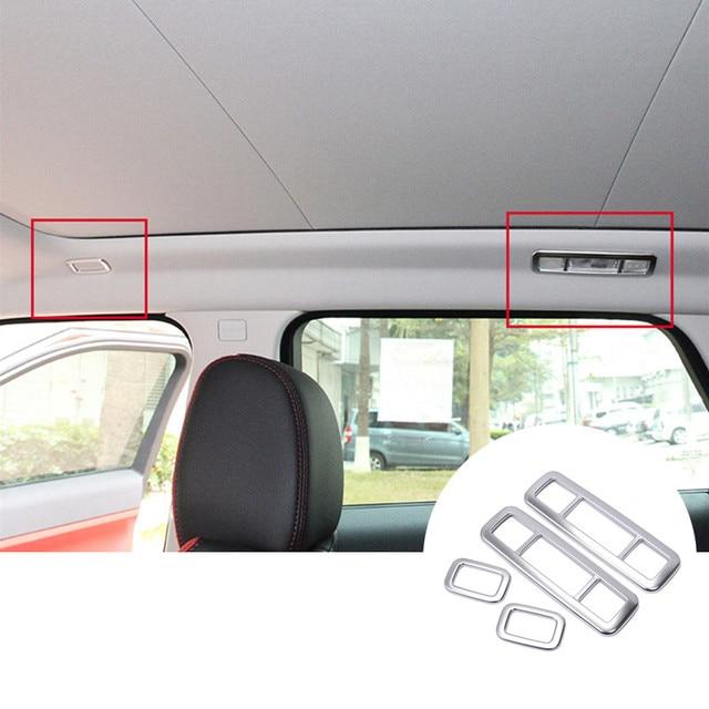 For Land Rover Range Rover Evoque Inner Roof Reading Light Cover Trim 2012-2016 4pcs