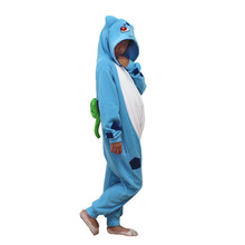 Children Sleepwear Pokemon Bulbasaur Cosplay Kigurumi Costume Halloween Carnival New Year Cartoon Onesie Pajamas