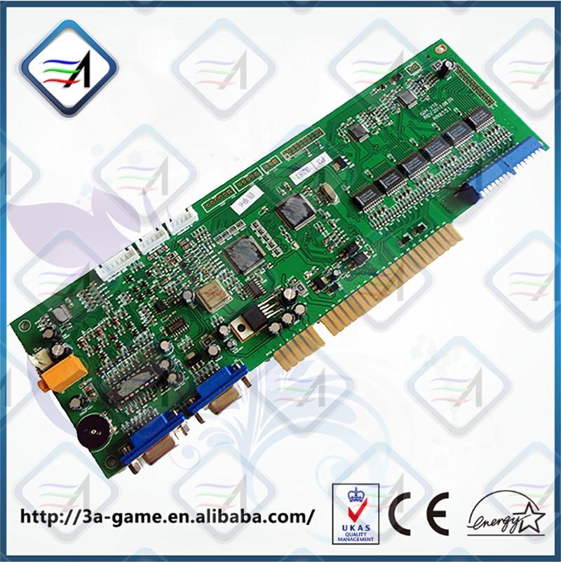 Neues Produkt Münze / Runde Modus PS3 IO Board Jamma Controller Board für PS3 Tekken 6 Spiele wählen 1 / Arcade-Spielautomat / amusem
