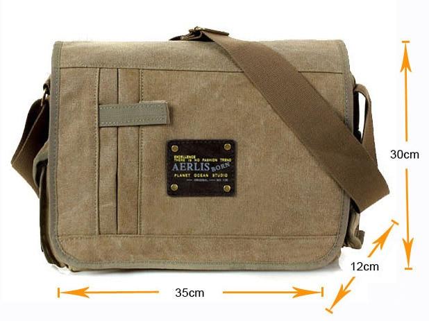 Military Messenger Bags Men's Travel Canvas Shoulder Bag Crossbody Top-handle  Bags Designer Tote Handbag - Best Price #A49C65 | Cicig