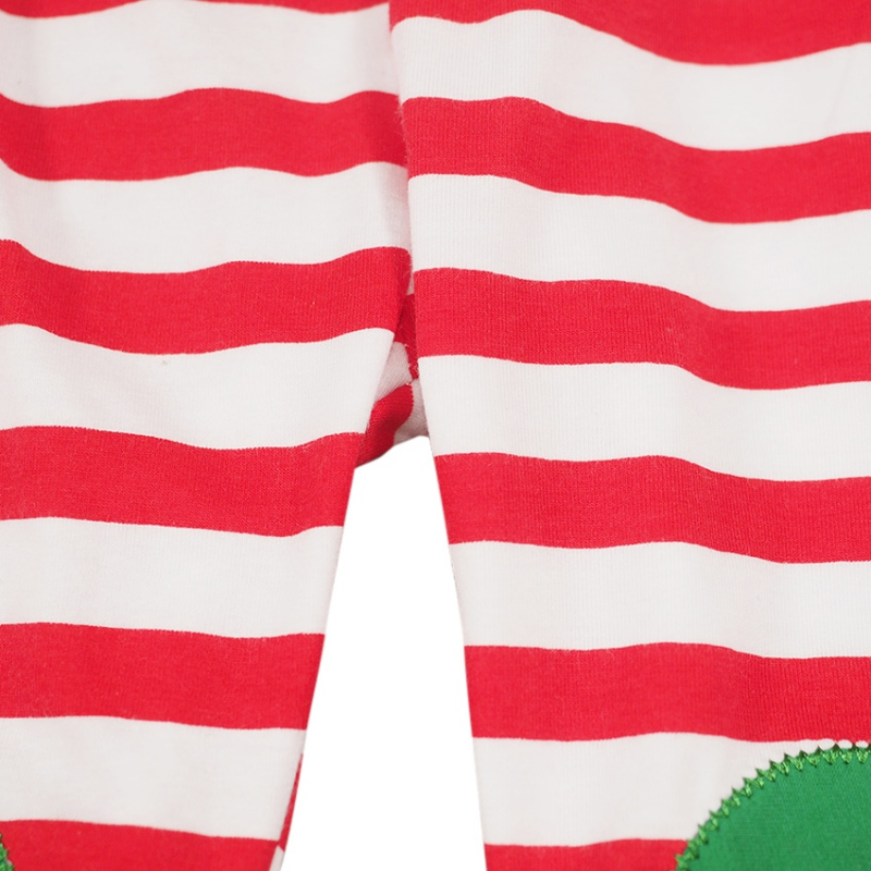 Fashion Baby Kids Xmas Suit Cute Boys Girls Set Long sleeves pants Christmas Stripe Sets 2pcs
