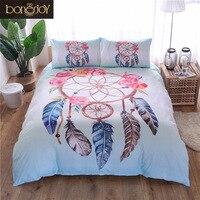 Bonenjoy Dreamcatcher Bedding Set Indian Style ropa de cama Queen Size Bed in a Bag Duvet Cover Set with Pillowcase Bedding
