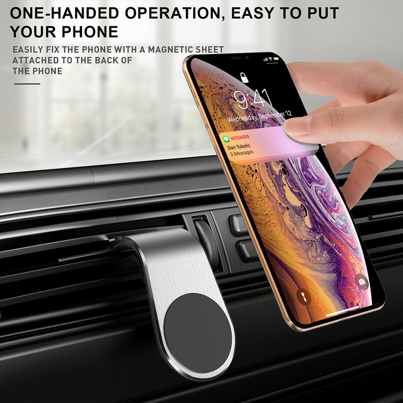 Magnetic Car Holder 360 Degree Car Air Vent Mount Mobile Phone Holder For IPhone 8 X Max XR Universal Phone Holder For Samsung
