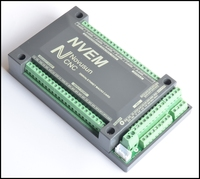 CNC 3 Axis 200KHZ ETHNET Internet Mach3 Card Stepper motor Controller Board PWM NVME