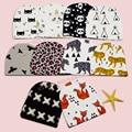 10+ Models Fashion Kids Hat Hot Fox/Tiger/Panda/leopard/Tent/X/ Bird/Batman/Bear Designs Hat Girls Boys, Suit for 0-2T