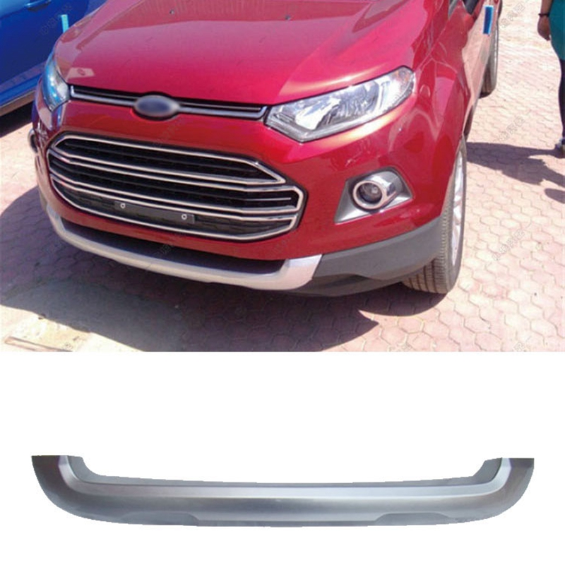 For Ford Ecosport 2013 2014 2015 2016 ABS Plastic Front Rear Bumper Guard Protector Skid Plate Bumper Covers Car Styling car accessories abs front rear bumpers car bumper protector guard skid plate fit for 2012 2014 great wall haval hover m4