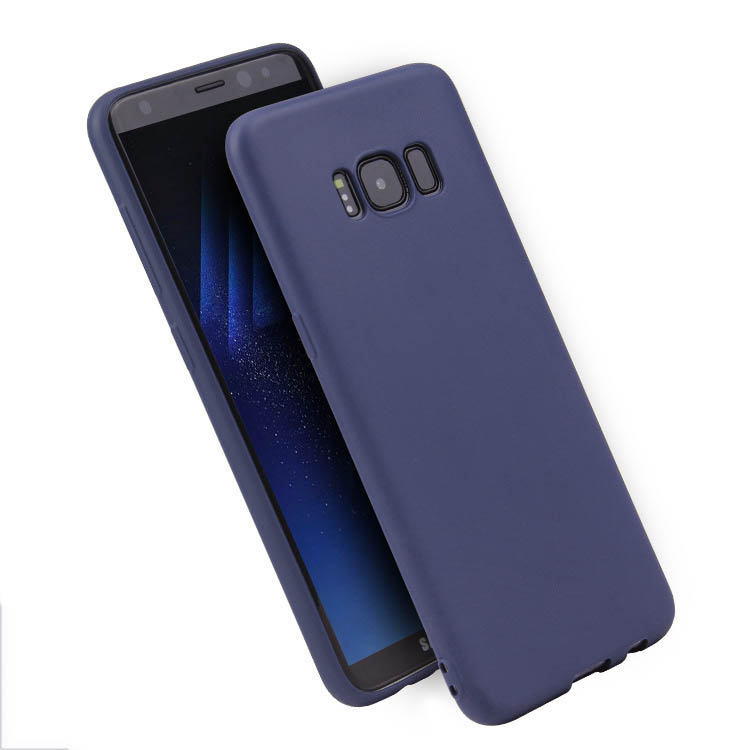 Frosted Mobile Phone Protecting TPU Soft Shell Suitable For Samsung Galaxy S7 S8 S9 S10 Plus S7 Edge S10E Phone Cover in Half wrapped Cases from Cellphones Telecommunications