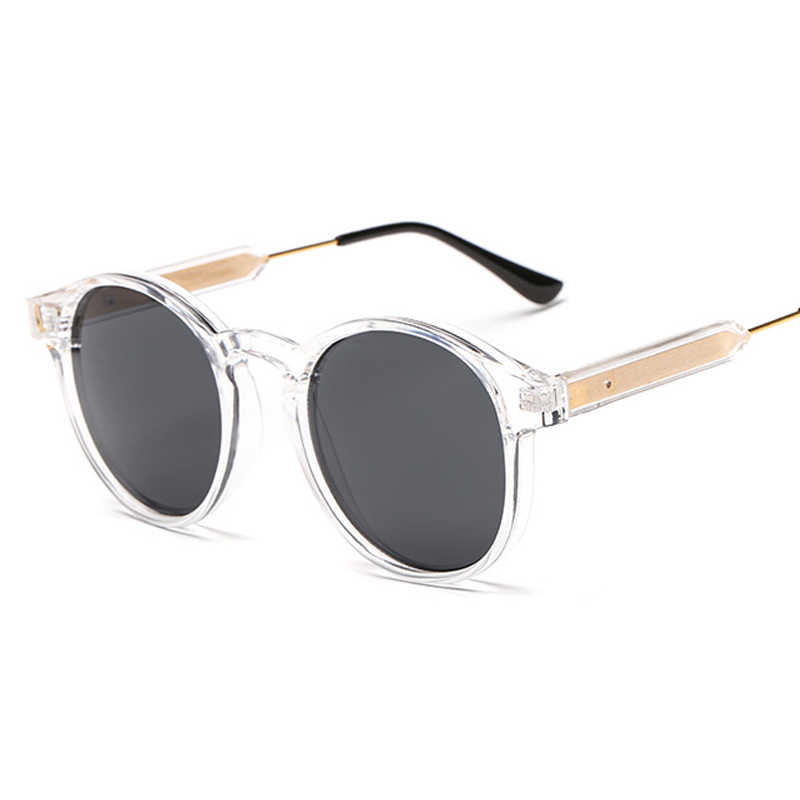 78db9182405e3 ... VIVIBEE Gothic Transparent Women Vintage Square Sunglasses 90s Round Sun  Glasses 2019 Trending Products uv 400 ...