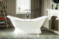 Free Shipping Bathtub Cast Iron Tubs With Pedestal