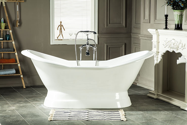 "72"" Freestanding Luxury CUPC Approval Bathtub High end ..."