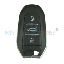 OEM Smart Key Remote Control 3 Button 433.92mhz ID46 Chip For Citroen Keyless Entry Remote Key Shell Replacement Remtekey