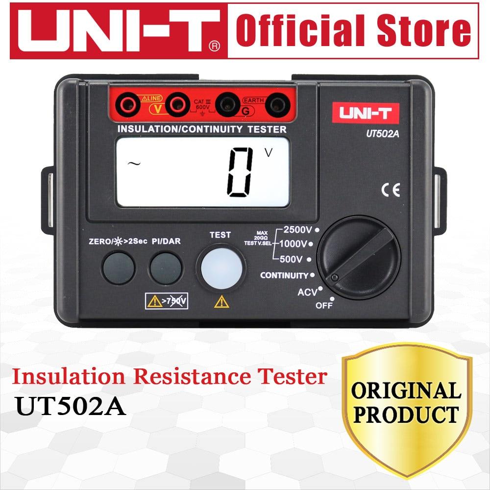 UNI-T UT502A 2500V digitális szigetelési ellenállásmérő teszter - Mérőműszerek - Fénykép 5