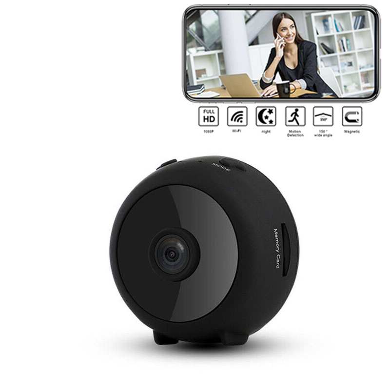 NOUVEAU! HD 1080 P Mini caméra sans fil à distance Wifi caméra de sécurité Action de mouvement de Vision nocturne détecte la vision nocturne Invisible IP cachée
