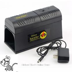 Электрический высокого Напряжение Мышь крысоловку Мышь убийца электронный грызунов Мышь Zapper Electrocute Mana Kiore домой отпугиватель вредителей