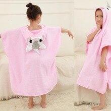 4 стиля, хлопок, 6 слоев, марля, вышивка, большой размер, детский мультяшный Халат с капюшоном, накидка, пляжное полотенце, горячее полотенце