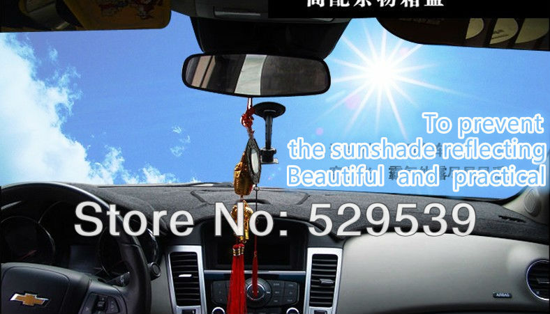 Pokrowce na deskę rozdzielczą Podkładki na platformę nissan TIIDA - Akcesoria do wnętrza samochodu - Zdjęcie 6