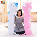 Plush Himono Onna Cat Dry Sister Doll boyfriend long pillow sad cat stuffed bolster cushion gift for girlfriend catlover present