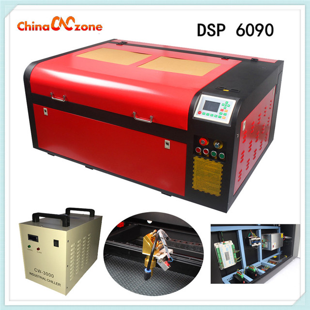 New 100W Laser Machine DSP 6090 100W Mili Machine Router Engraver Machine For Metel Wood 600 *900mm Engraver From China
