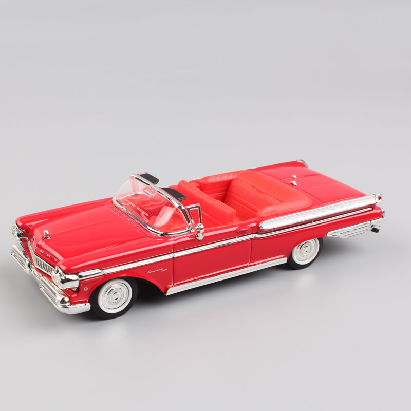 <font><b>1:43</b></font> scale ford 1957 Mercury Turnpike Cruiser Convertible metal styling <font><b>vintage</b></font> vehicle metal <font><b>diecast</b></font> model toys cars for kids image