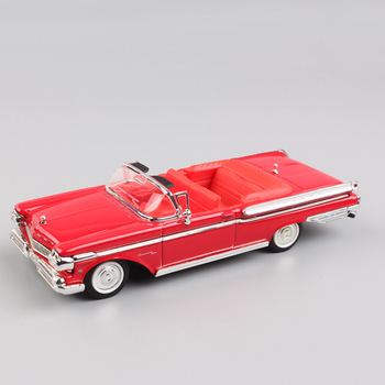 1:43 scale ford 1957 Mercury Turnpike Cruiser Convertible metal styling vintage vehicle metal diecast model toys cars for kids image