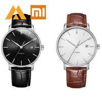 Xiaomi TwentySeventeen Men's Light Mechanical Mi Watch 5ATM Xiomi With Sapphire Surface And Ganuine Leather Strap